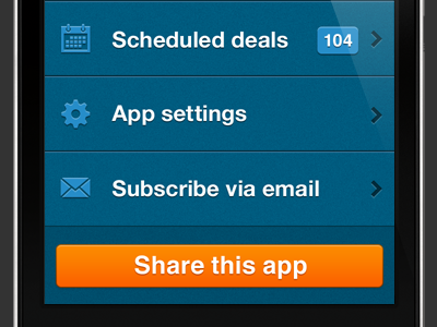 Launch page iphone app ios ui sydney