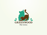 Greenwood Pet Clinic logo