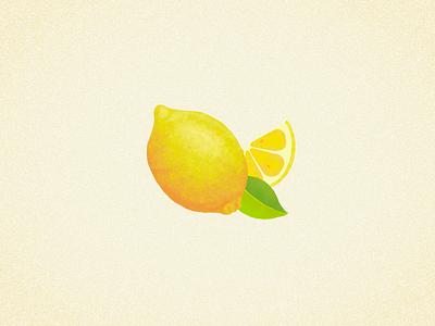 Lemons digital illustration yellow juicy juice lemons lemon