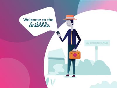 Debut On Dribbble