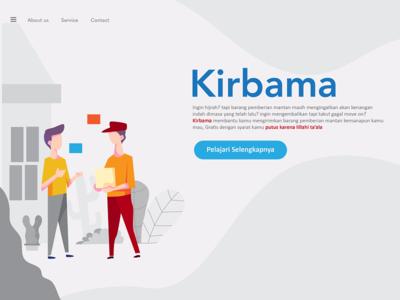 Kirbama Landing Page