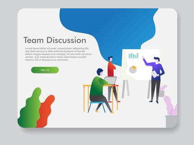 Page Design Templates For Digital Marketing  Teamwork  Business