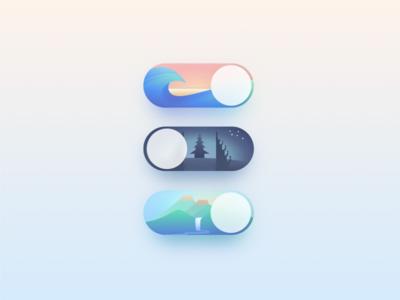 Bali Explorer App Switches
