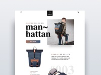 Backpack Landing Page