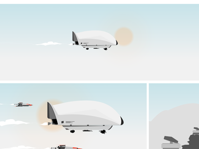 Armed Escort comic art illustration figma