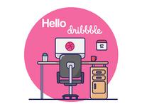 Hellooo Dribbble!