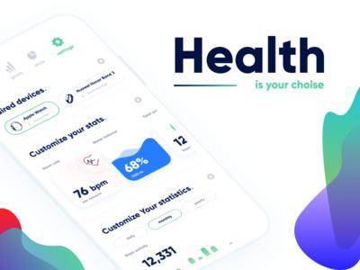Health - monitoring application