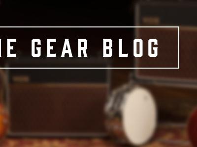 The Gear Blog banner image reverb.com reverb