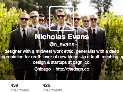 Twitter Avater + Header twitter profile