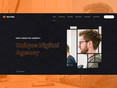 Waysme - Creative Digital Agency creative design unique awesome color combination webdesign slider banner seo marketing digital creative agency creative