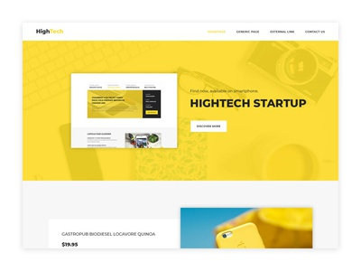 Creative Startup Website