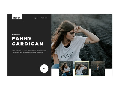 Creative Fashion Website inspiration unique colorful awesome design creative webdesign fashion
