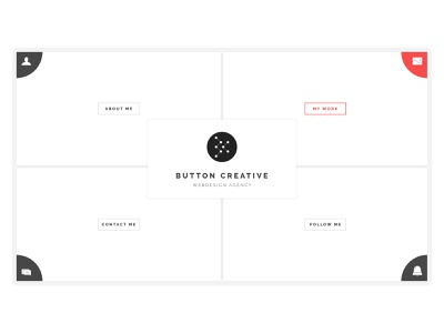 Creative & Unique Personal Website personal design template awesome funtional minimal clean unique creative webdesign