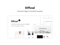 Diffusal - Creative Portfolio Template