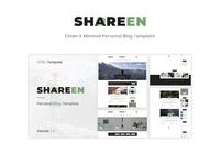 Shareen - Personal Blog Template