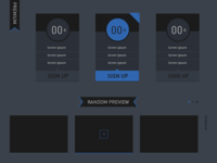 Pricing Tab & Slider #Freebies