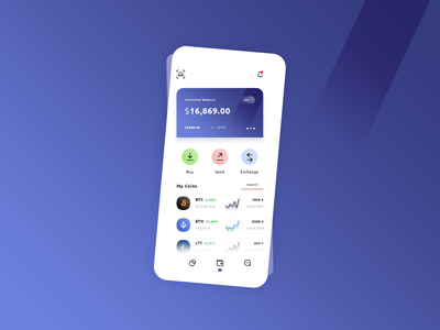 Wallet #Freebies .Psd 3d logo credit card product design hybrid app android ios application app dashboard wallet balance crypto icons ux ui freebies free photoshop psd