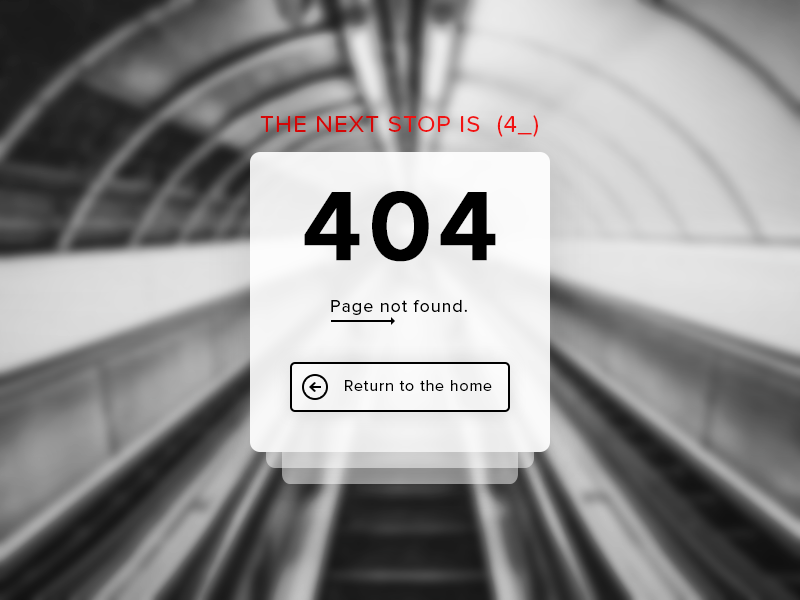 404 Page Not Found #Freebies error freebies free page ux ui photoshop psd button home metro page not found 404