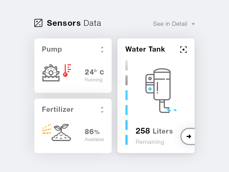 Sensors Data. Icons #Freebies