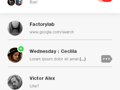 Chats App #Freebies circles photoshop psd icons freebies free message bubbles ux ui app chats