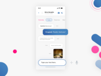 Chat. IOS UI #Freebies