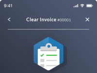 Clear invoices app