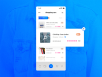 Shopping Cart. Historical Orders - IOS App #Freebies