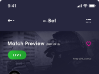 3 cs go match preview   bets