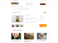 Koki La Boutique. Product Page