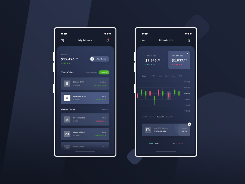 Finance - BTC #Exploration #Freebies dark product design ux ui cryptocurrency bitcoin dashboard wallet iphone x photoshop free psd freebies free ios application app finance