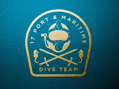 Branding for 17 Port & Maritime Dive Team - MOD