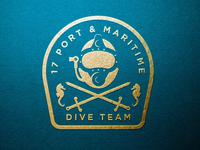Branding for 17 Port & Maritime Dive Team - MOD