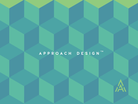 Approach Design cube pattern