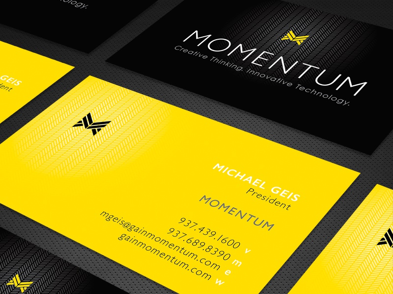 Momentum business cards by greg tobias dribbble colourmoves