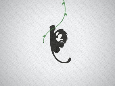 Personal Monkey Logo monkey logo photoshop illustrator