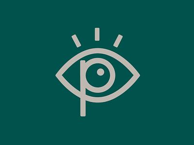Pennridge Family Eye Care brand guidelines visual identity icon illustration branding