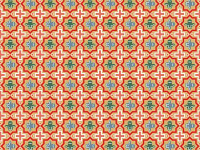 Sretensky pattern russian christian religious art seamless pattern sretensky pscov-caves orthodox church decor interior painting traditional seamless art history illustration vector