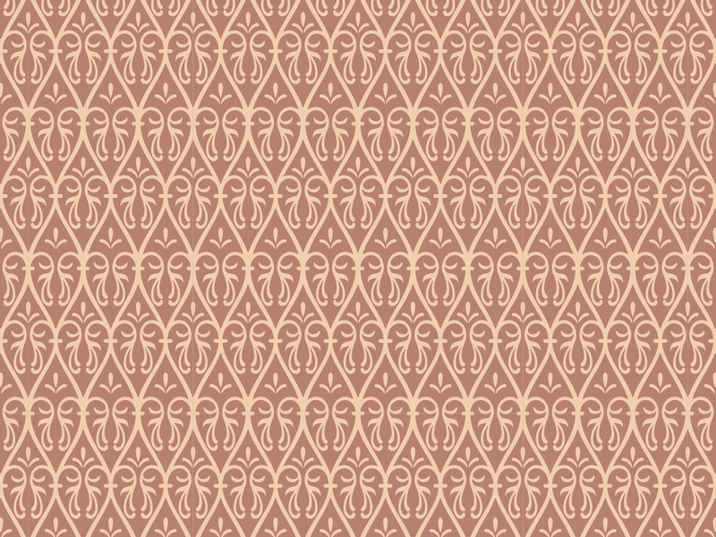 Old Russian ornamental pattern