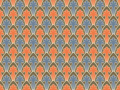Old Russian ornamental pattern russian ornament pattern vector illustration illustration vector