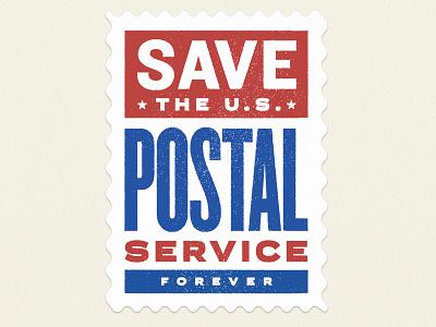 Save the USPS! mail postal service stamp usps