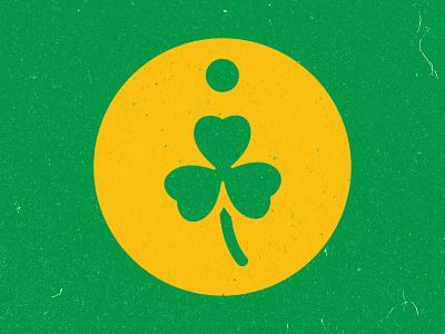 Irish Touch Pet Grooming - Logo Mark logodesign logo texture clover logomark