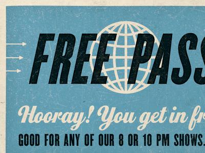 Free Pass!