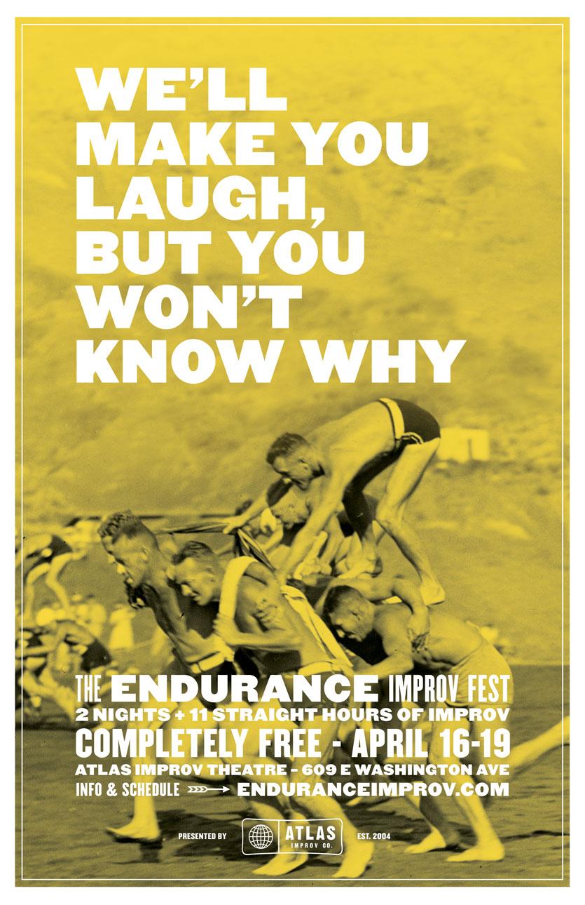 Endurance posters   laugh