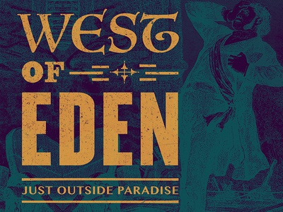 West Of Eden (W.O.E.) Beer Label