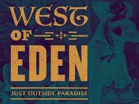 West Of Eden (W.O.E.) Beer Label