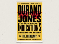 Durand Jones & The Indications - Poster