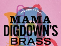 818 01 sbs 201   mama digdown s brass band poster