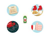 EatStreet - Holiday Order Tracker Icons