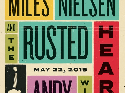 Miles Nielsen and The Rusted Hearts + Andy Jenkins - SBS 214.19