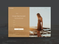 Ecommerce Login Page